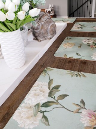 Wondering what to do with leftover wallpaper?  I have the best idea for you!
