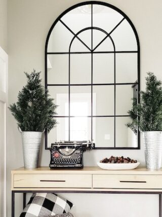 DIY entryway makeover – 5 projects rolled into one