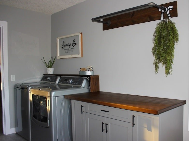 After the laundry room makeover