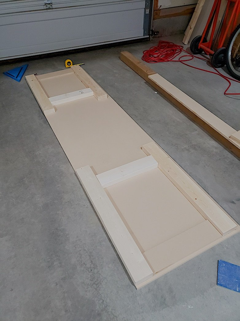where to begin when you build a simple desk with drawers