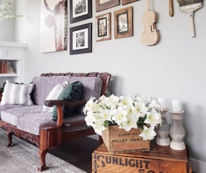 Decorating with vintage finds – how I style them in my home