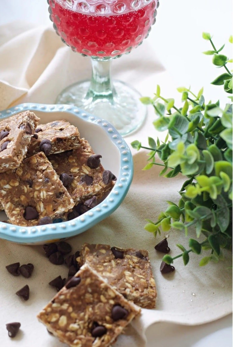 Nut butter protein bars