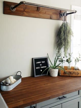 Laundry room makeover – my first DIY project that was a complete remodel